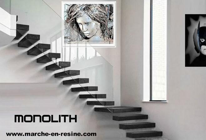 les escalier suspendu monolith en b ton cir escalier suspendu quart tournant escalier suspendu. Black Bedroom Furniture Sets. Home Design Ideas