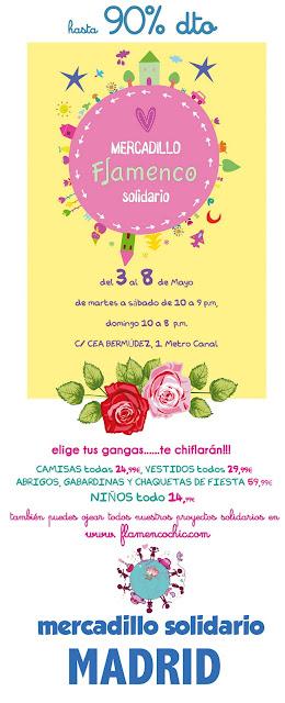 Mercadillo Solidario de Flamenco