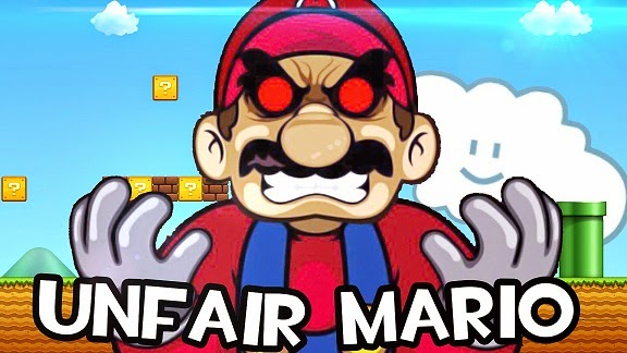 Unfair Mario Game Ngeselin