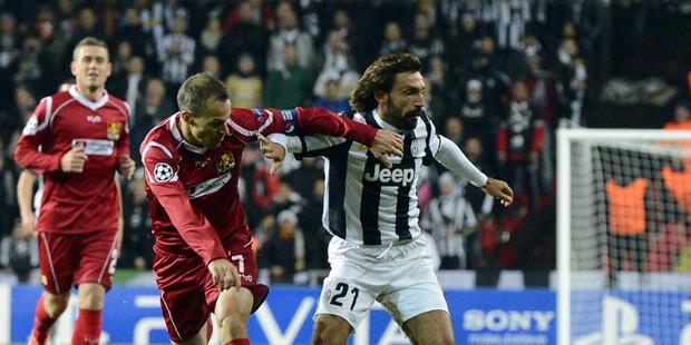 Nordsjaelland vs Juventus