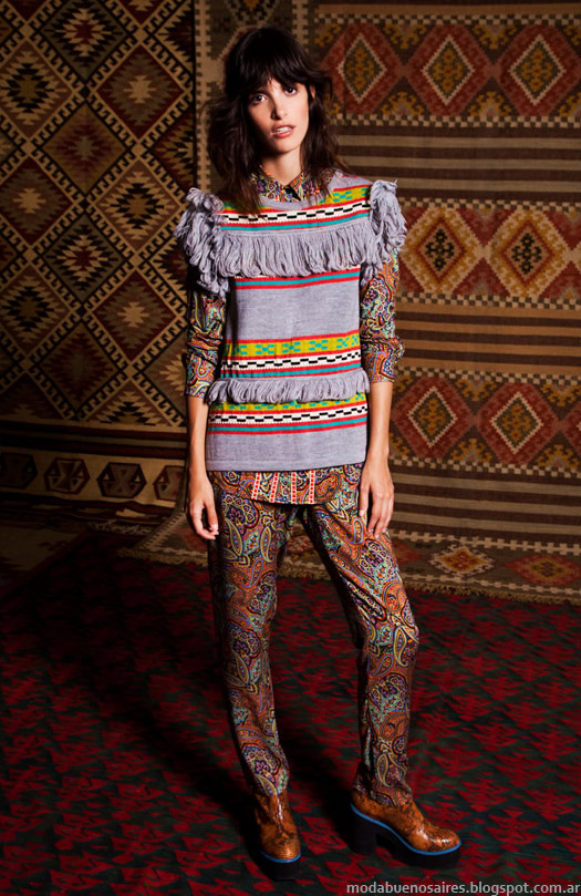 Sweaters tejidos invierno 2015 Benito Fernandez.