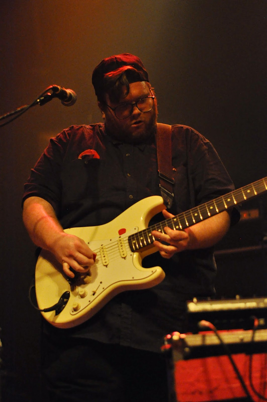 Paul Saulnier is the guitarist for PS I Love You.