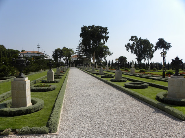 Bahai Gardens Acre Israel