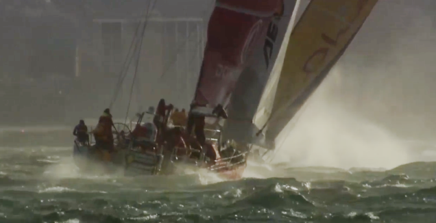 Volvo Ocean Race Leg 2 Start photo