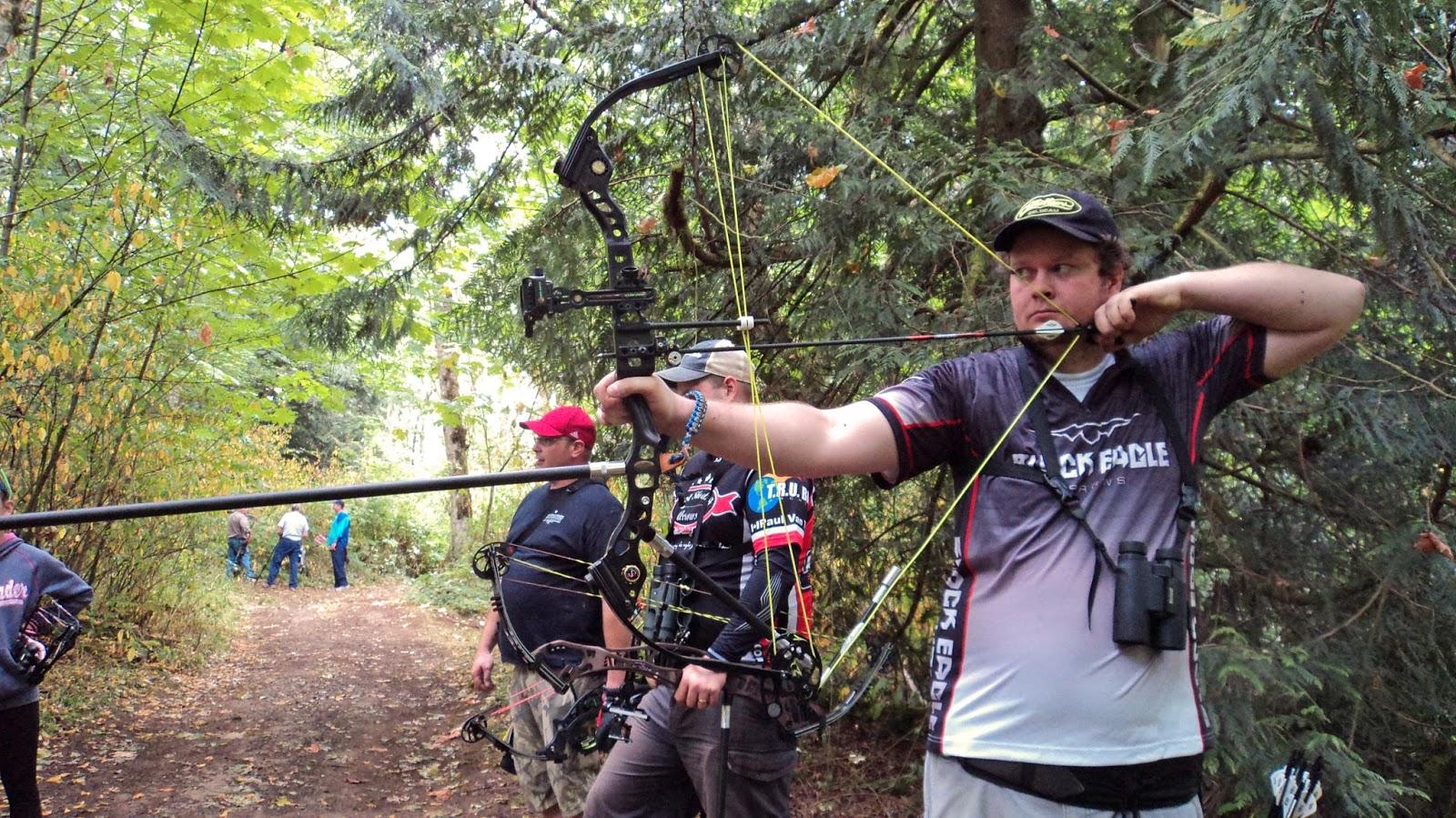 Cecilia flaming archery blog 3d fun shoot semiahmoo for Bow fishing games