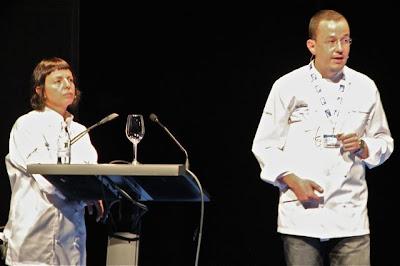 Chefs del restaurante Les Cols en Gastronomika 2012. Blog Esteban Capdevila