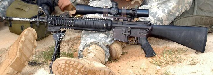 M16/AR15 as a Sniper or Designated Marksman Rifle | 7.62 Precision ...