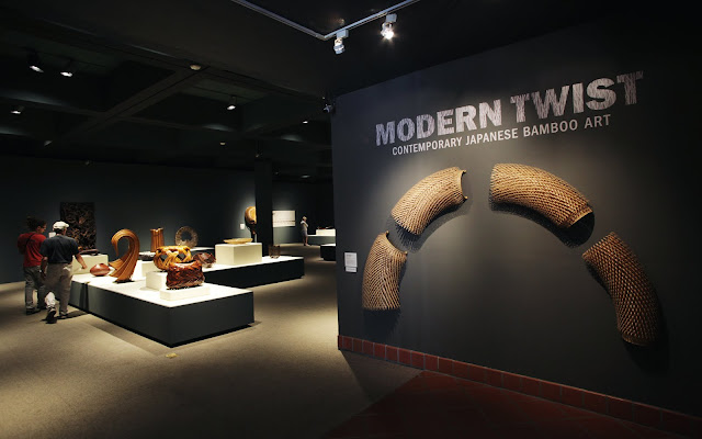 Modern Twist: Contemporary Japanese Bamboo Art (September 19, 2015- January 3, 2016)
