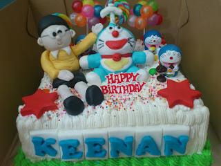 Kue Ulang Tahun Doraemon Lucu Untuk Anak