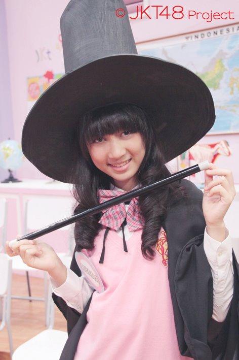 ayana shahab pada JKT48 School episode 7