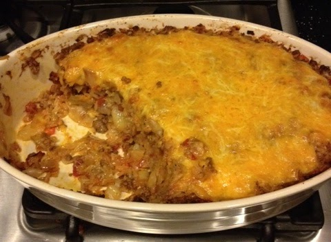 Sarah's Kitchen: Stuffed Cabbage Casserole