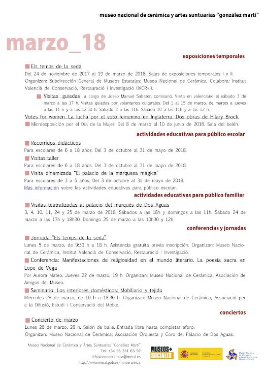 ACV 06 MUSEO GLEZ MARTÍ (01 al 31 de Marzo de 2018)