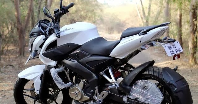 bajaj pulsar 200 ns will be available in 2 new shades red black