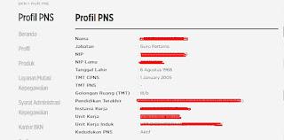 Cek Keaktifan PNS di Database BKN
