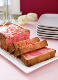 Pink Lemonade Pound Cake