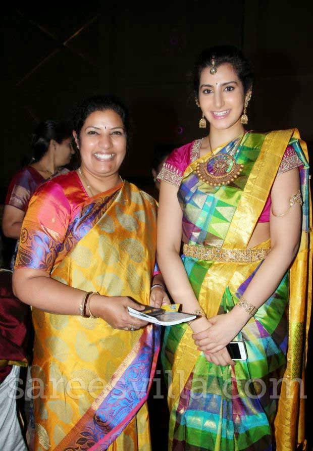 Purandhareswari and Brahmini in Silk Sarees