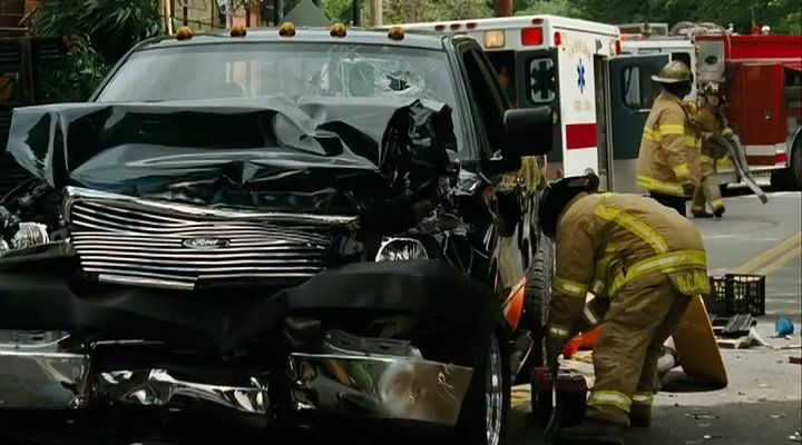 The Blind Side Car Accident Scene