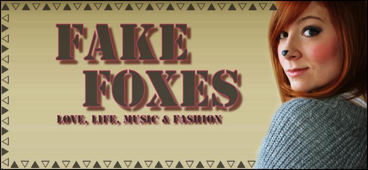 fake foxes