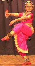 Posture de la Danse de Shiva