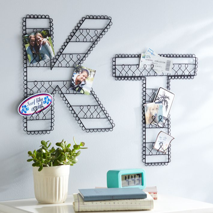 Decorative letters driven by decor Wall letters decor