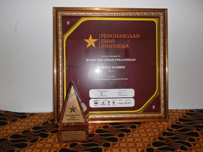 Penghargaan Emas Indonesia Utk BACP 5ab76f37fd