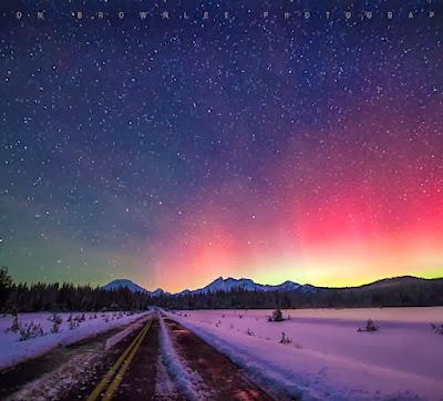 Auroras en Oregon, EE.UU, el 02 de Octubre 2013
