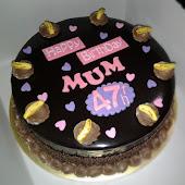 ~BANANA CHOC CAKE~