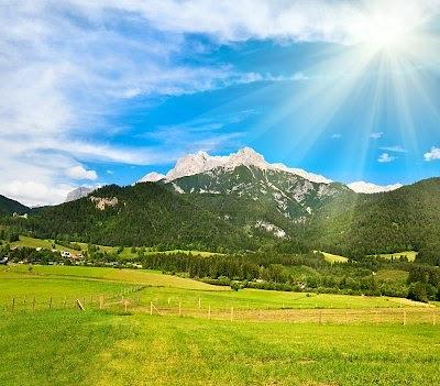 Fondos de Pantalla de Verano de las Montañas