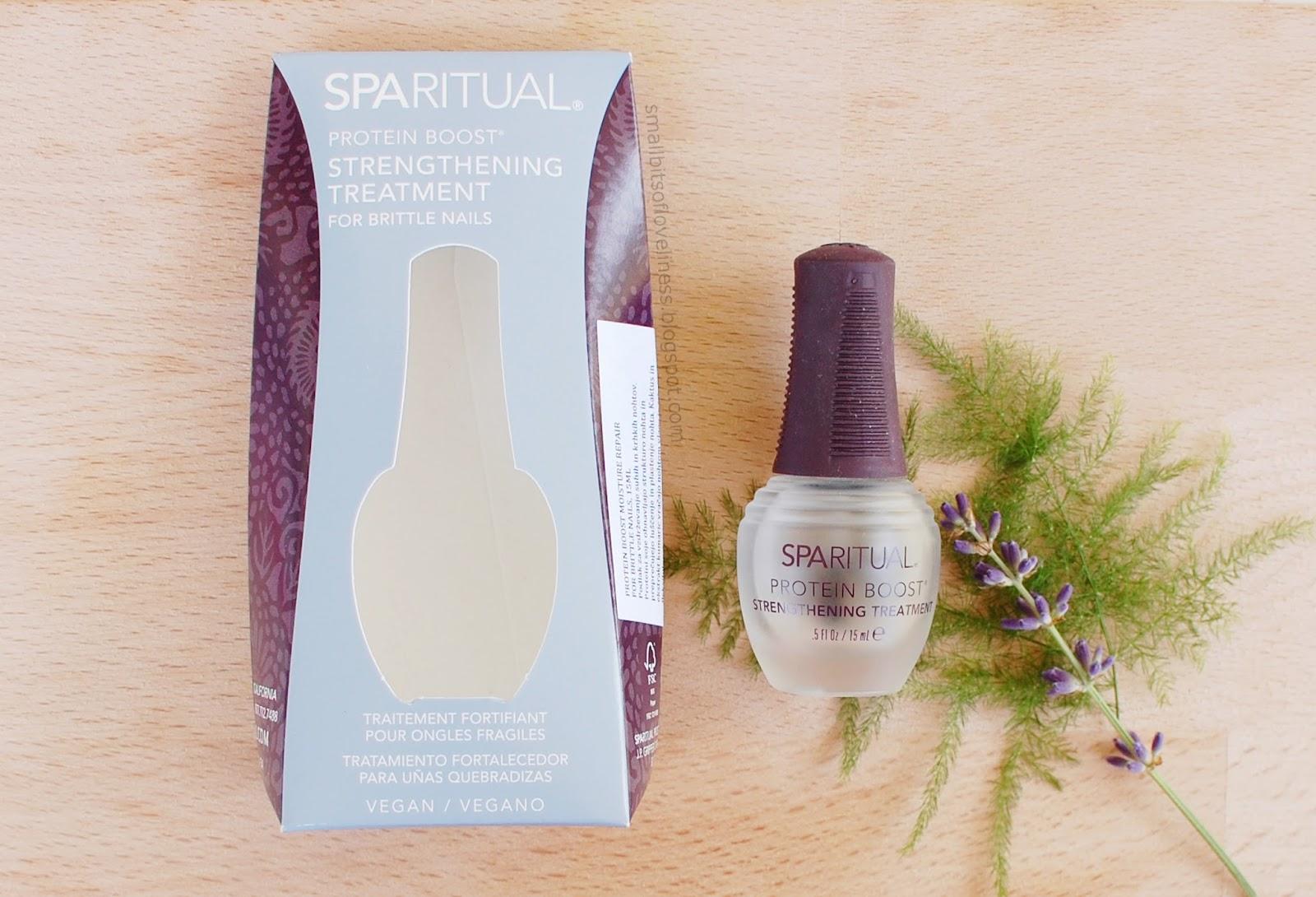 SpaRitual Protein Boost Moisture Repair for Brittle Nails, Podlak za vzdrževanje suhih in krhkih nohtov
