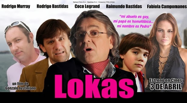 Lokas. Película gay chilena y mexicana