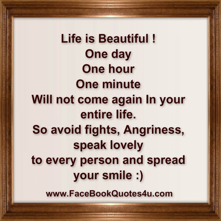 Life Is Beautiful Quotes  Beautiful Quotes On Life