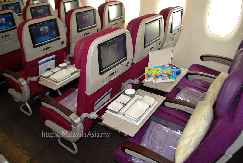 Malaysia Airlines Airbus A380 Interior Pictures