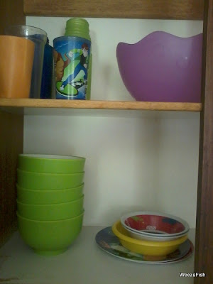 plastic cups kitchen cupboards