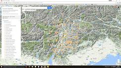 Mappa delle escursioni