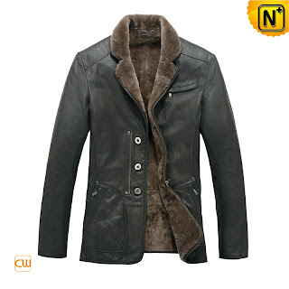 Gray Shearling Jacket