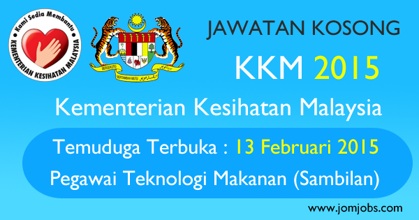 Jawatan Kosong KKM 2015 Terkini - Kementerian Kesihatan Malaysia