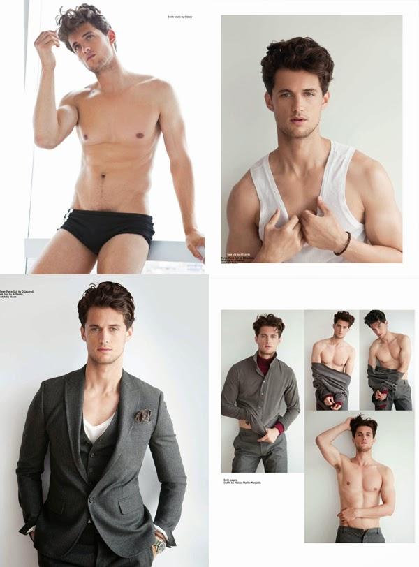 garrett neff underwear shirtless desnudo sin camisa supermodelo masculino