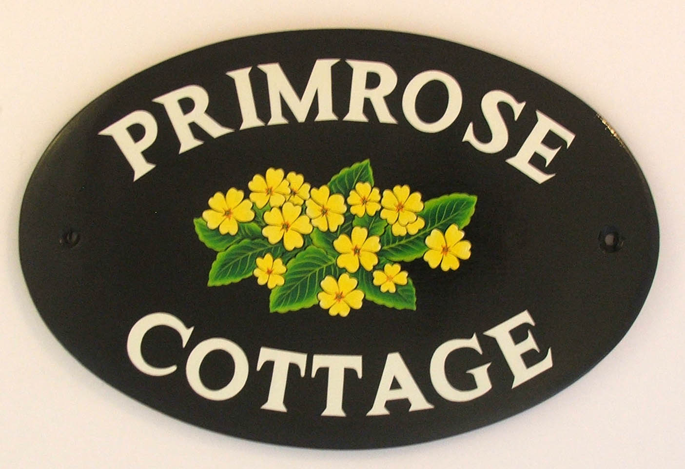 hand painted house signs by ceramic art more of our hand. Black Bedroom Furniture Sets. Home Design Ideas