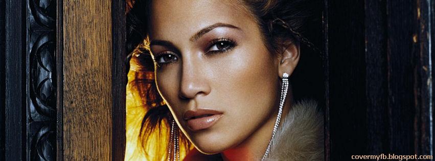 Facebook Timeline Cover Of Jennifer Lopez.