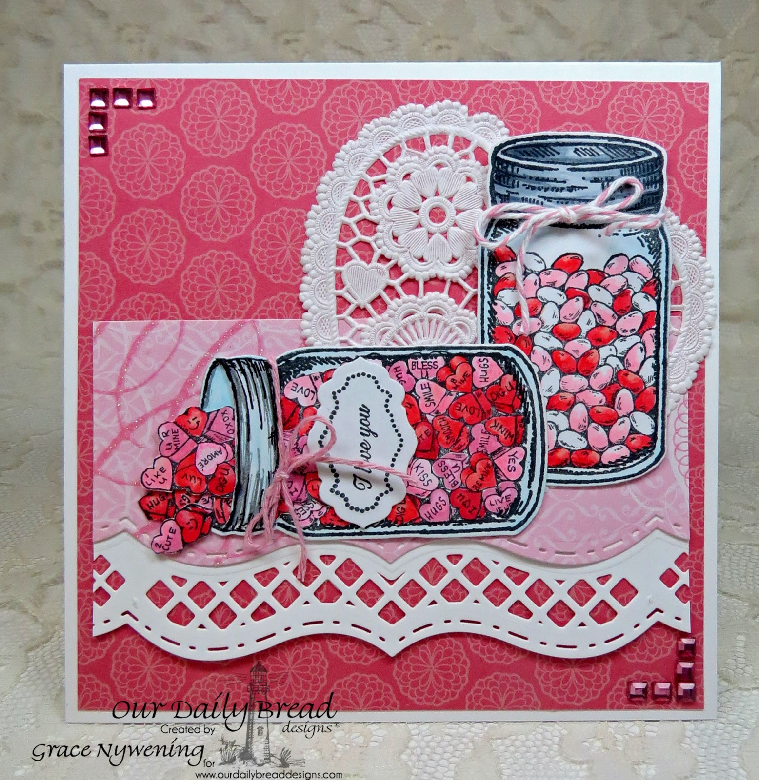 Stamps - Our Daily Bread Designs Canning Jar Fillers, Blue Ribbon Winner, Antique Labels and Borders, Ornate Borders Sentiments, ODBD Custom Canning Jars Die,  ODBD Custom Antique Labels & Border Die