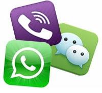 Confronto applicazioni messaggi cellulari