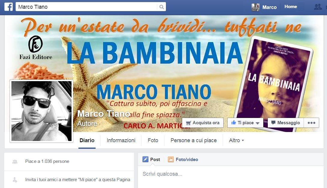 Seguimi anche sulla mia pagina Facebook