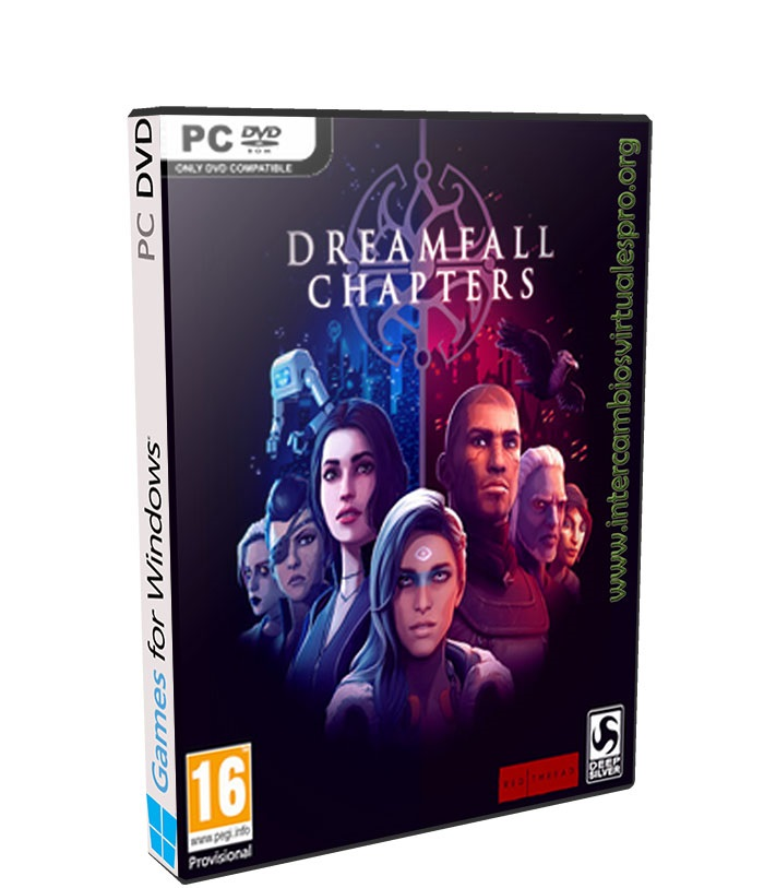 Dreamfall Chapters The Final Cut poster box cover