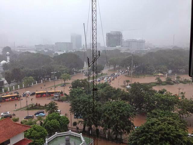 Jakarta Dikepung 93 Titik Banjir