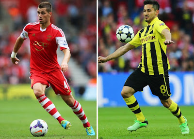 Manchester United to seal duo Schneiderlin and Gundogan deals