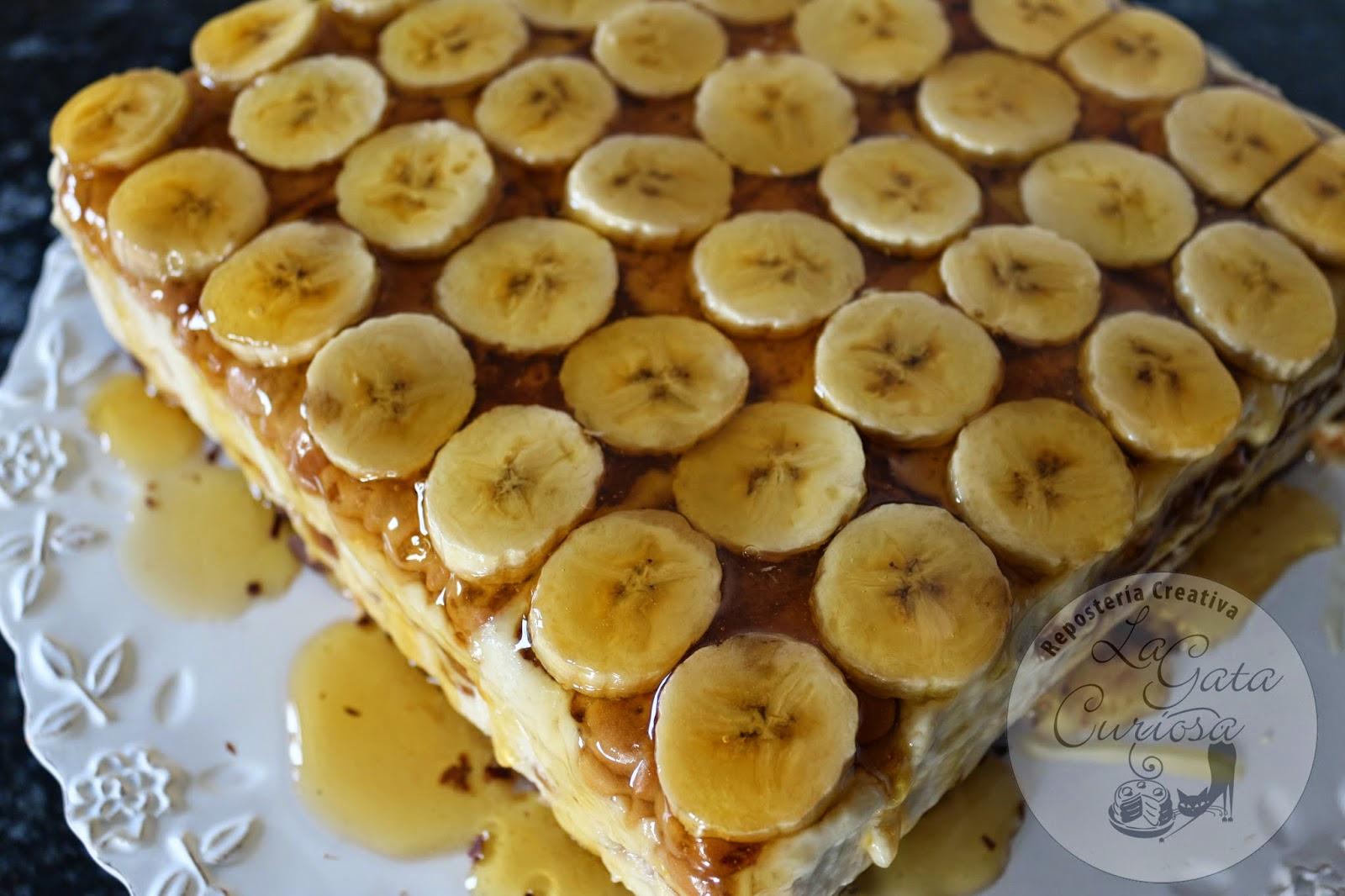 Торт из печенья с бананом и сгущенкой рецепт пошагово