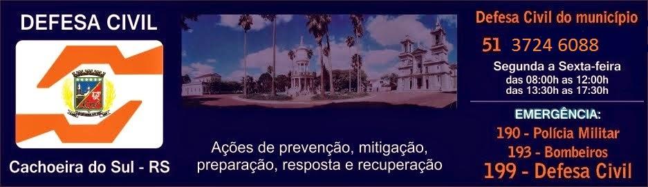 Defesa Civil de Cachoeira do Sul