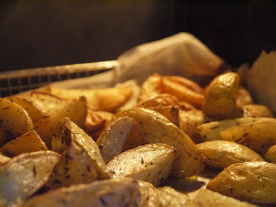 Potatoes au four (voir la recette)