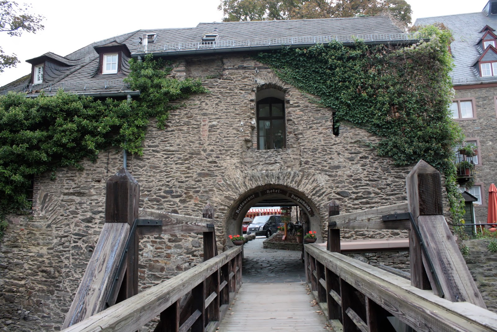 Castle Rheinfels on the Rhine - The Tipsy Terrier blog