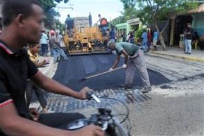 Obras Públicas comienza Plan Nacional de Asfaltado